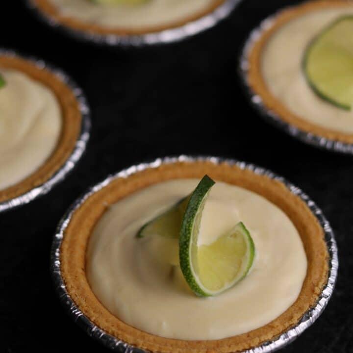 Mini Whipped Key Lime Pies
