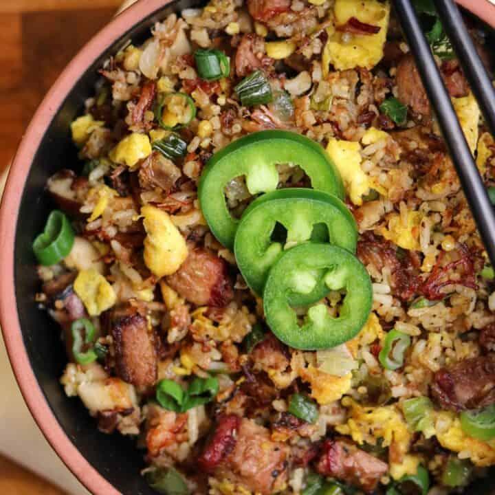 Leftover Brisket Fried Rice