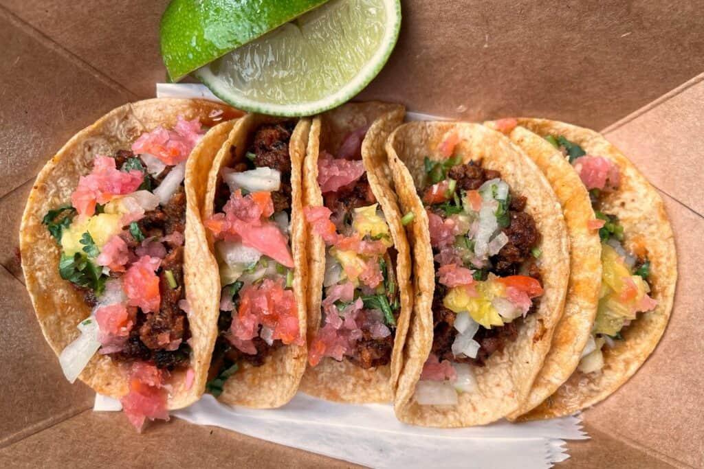 tacos discada