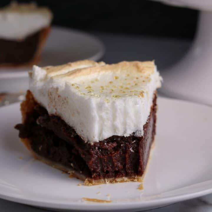 Chocolate Meringue Pie
