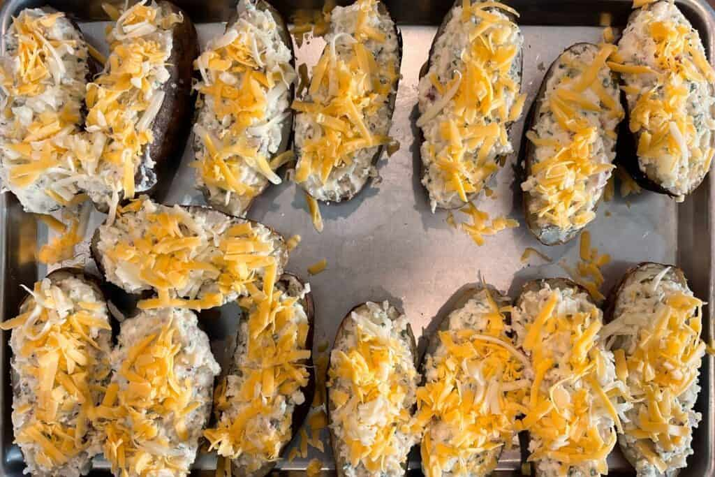 twice baked potatoes before smoking a second time