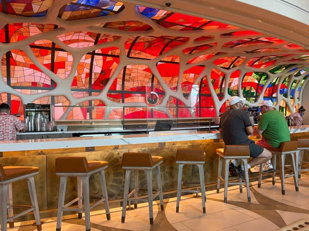 Barcelona lounge inside Coronado Springs Resort