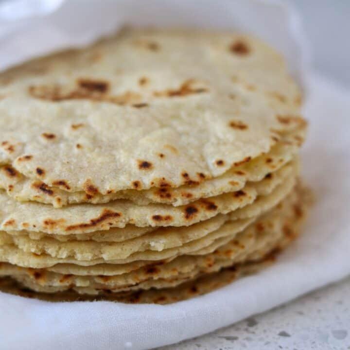 Homemade Corn & Flour Tortillas